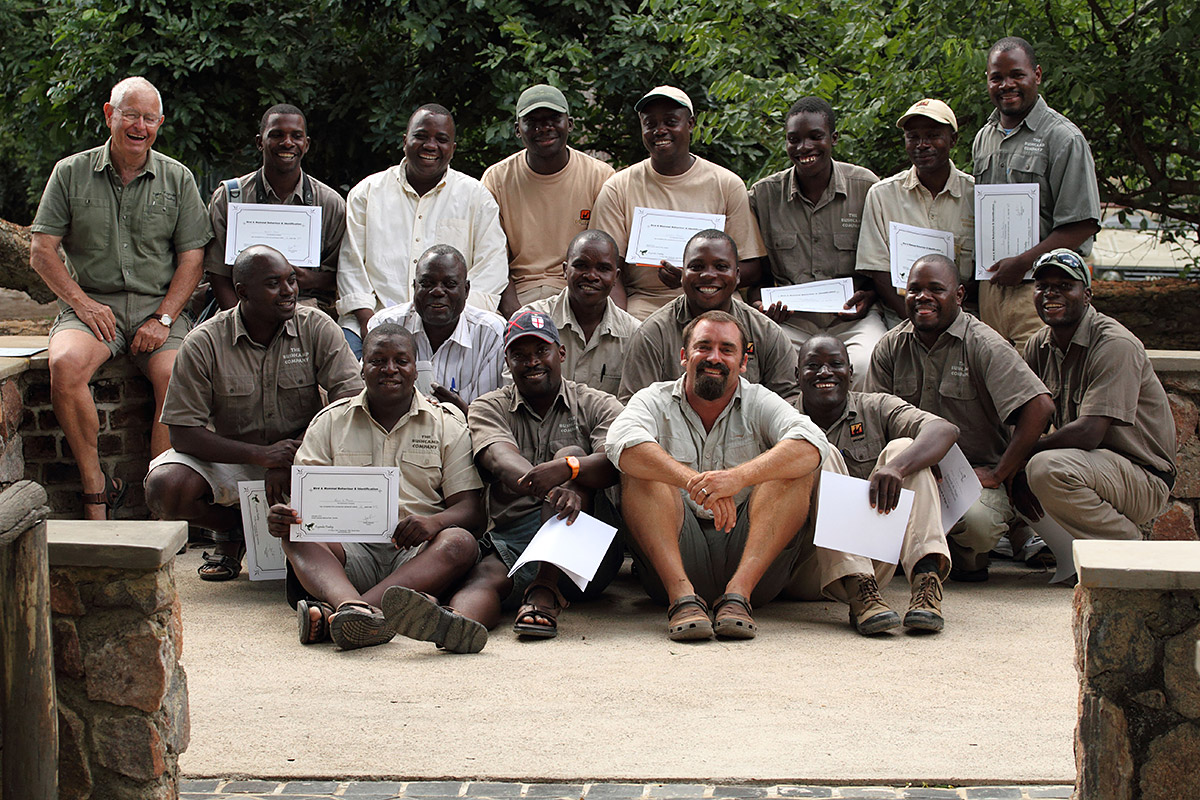 Guide-Training-Zambia-South-Luangwa-February-2013