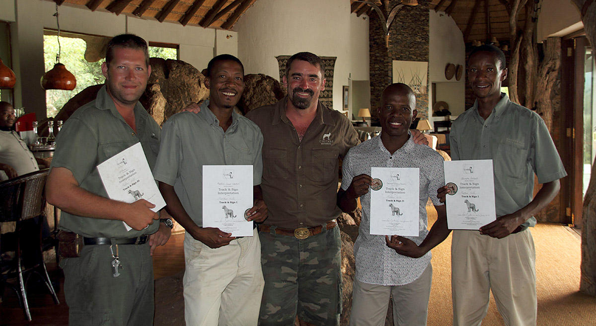 Tracker-training-Madikwe-South-Africa-January-2012