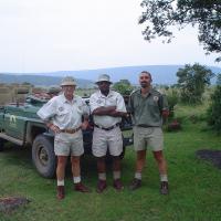Oom Koos, Raphael and Lee, 2004