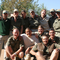 Part of our guide team, 2006
