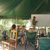 The lessons tent, 2006