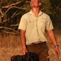 Birding-with-Trevor-Savage-at-Ulusaba,-2011