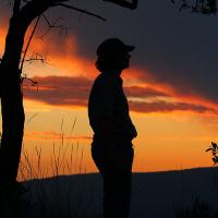 Diana-Griffioen,-in-the-sunset,-2012