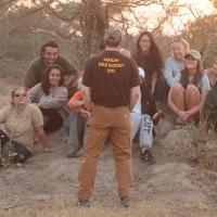 Chad teaching UCONN at Djuma