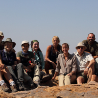 Field Ecology, Tuli, Botswana, with Derek and Sarah Solomon, 2014