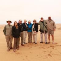 Namibia trip with Van Harris, 2017