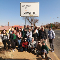 New Albany group in Soweto, 2017