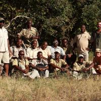 The-Bushcamp-Company-Team,-South-Luangwa,-Zambia,-2018